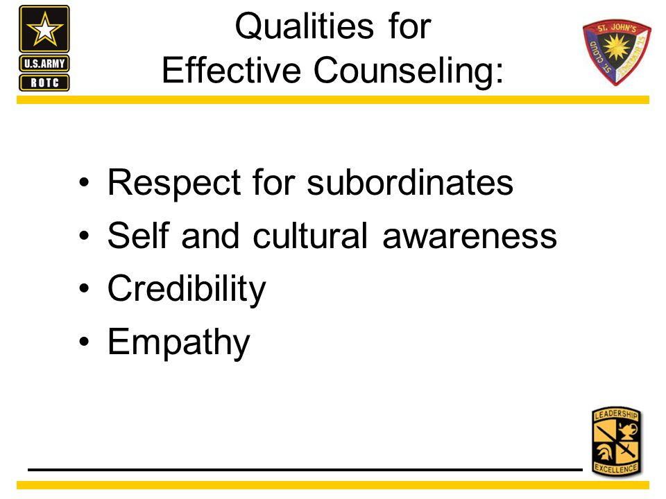 Counseling Skills Active Listening Responding Questioning Avoiding Counseling Errors
