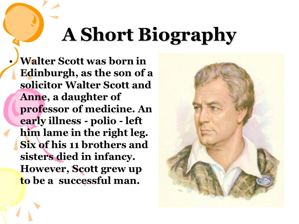 At the age of eight he returned to Edinburgh.