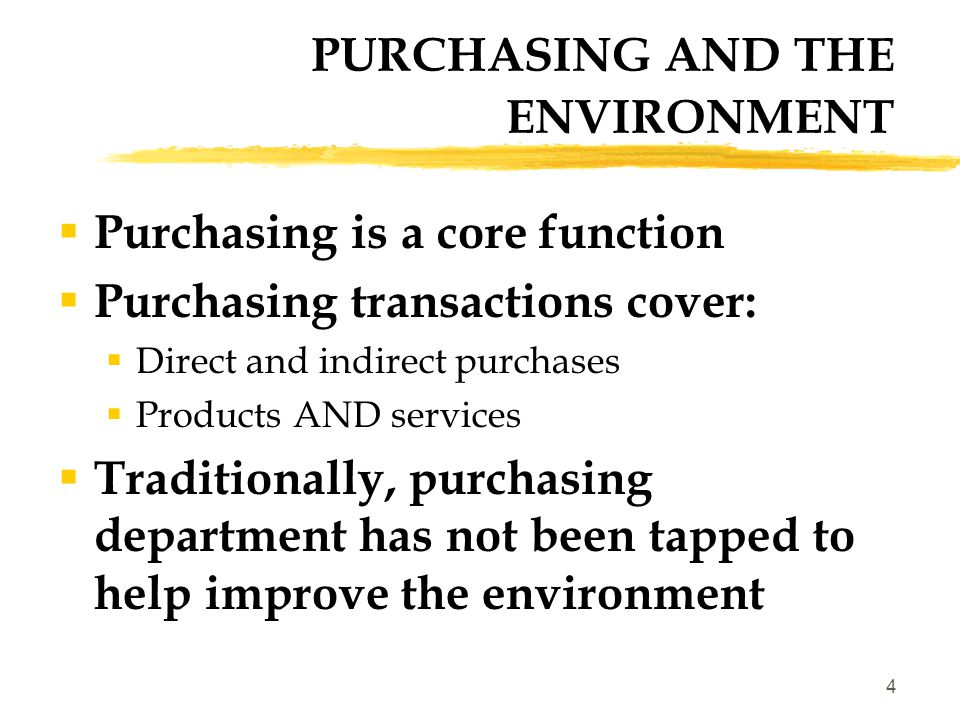 5 Comprehensive Procurement Guideline Biobased Program Energy Star EPP Program Recycled content Agricultural or forestry materials content Depends on product/service -- examples include: All of the above plus Less/Non toxic Resource conserving Recyclable Durable/upgradable Reduced packaging Reduced effect on human health and eco-systems Energy efficiency Green Procurement ProgramTarget Attribute(s) GREEN PROCUREMENT PROGRAMS