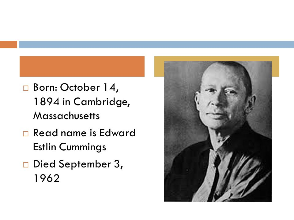  Began writing poems in 1904  Graduated from Harvard with his B.A.