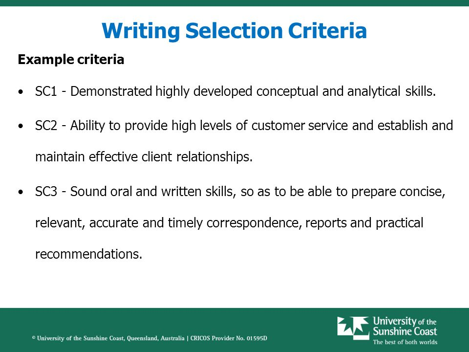 STAR Method Example Selection Criteria –Demonstrated ability to develop tools and procedures that streamline work processes.