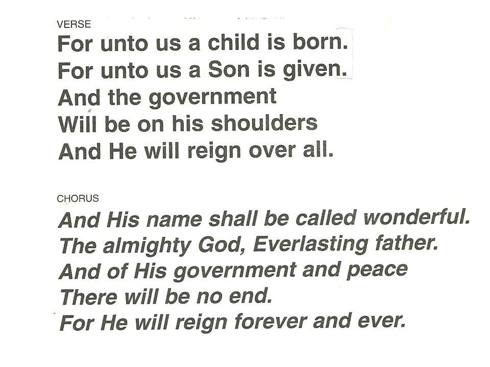 Prophet 4: Rejoice greatly, O Daughter of Zion.Shout Daughter of Jerusalem.