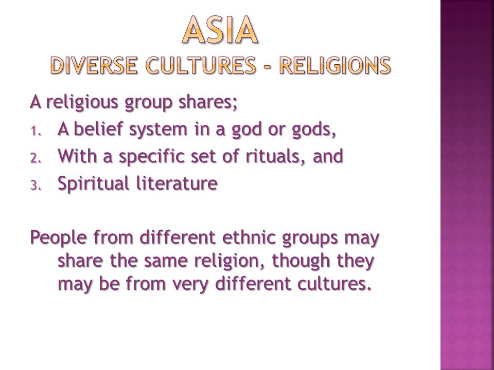 HINDUISM Hinduism is one of the oldest religions in the world.
