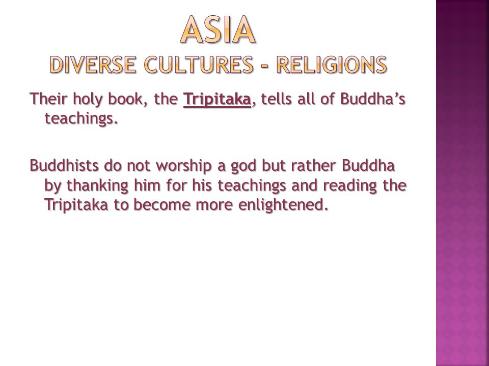 Buddhism Summary Buddhism is the teachings of one man.