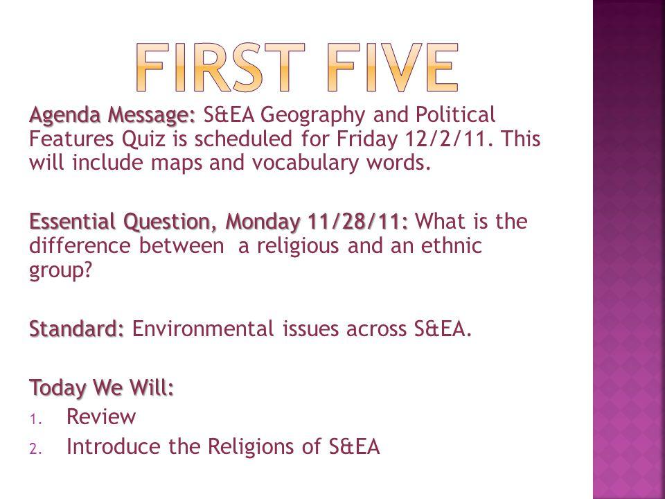 Agenda Message:.Agenda Message: After-school tutoring Wednesday from 4-5p.