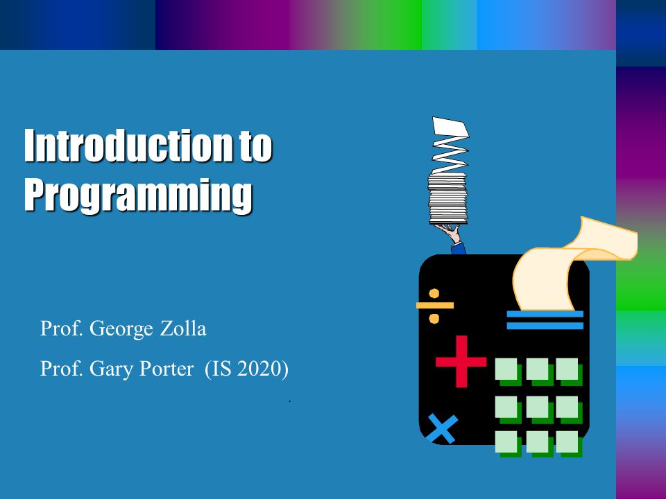 Programs b A program is a set of step- by-step instructions that directs the computer to do the tasks you want it to do and produce the results you want.