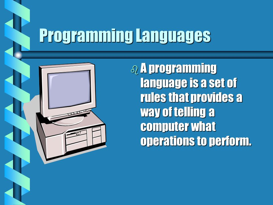 What Can a Program Do.