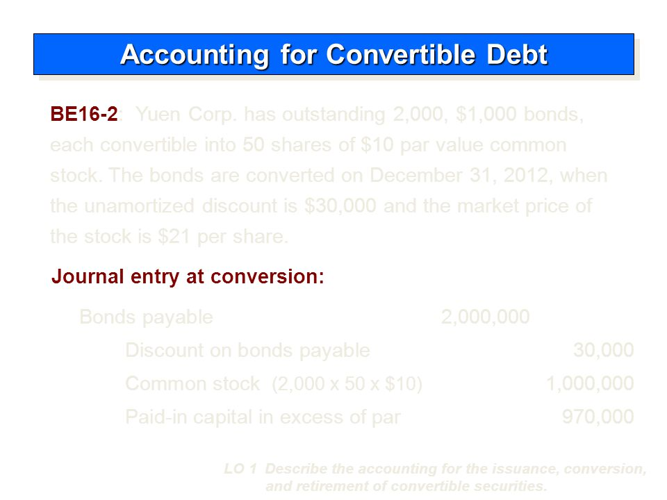  Issuer wishes to encourage prompt conversion.
