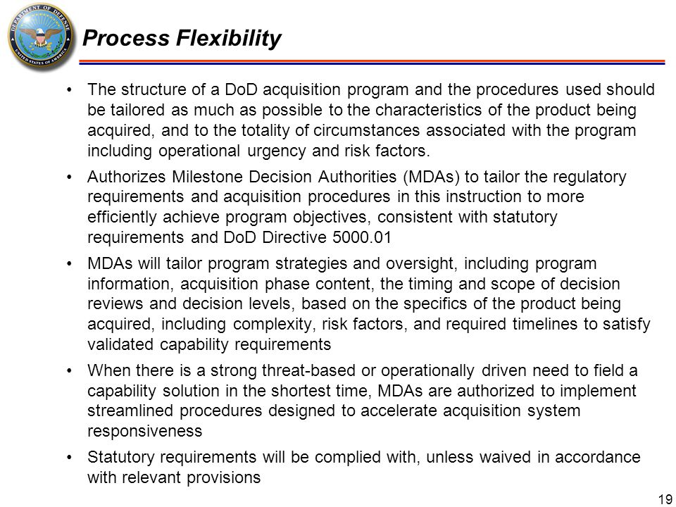 20 Capability Development Document (CDD) Validation During the TMRR Phase, the requirements validation authority will validate the CDD (or equivalent requirements document) for the program.