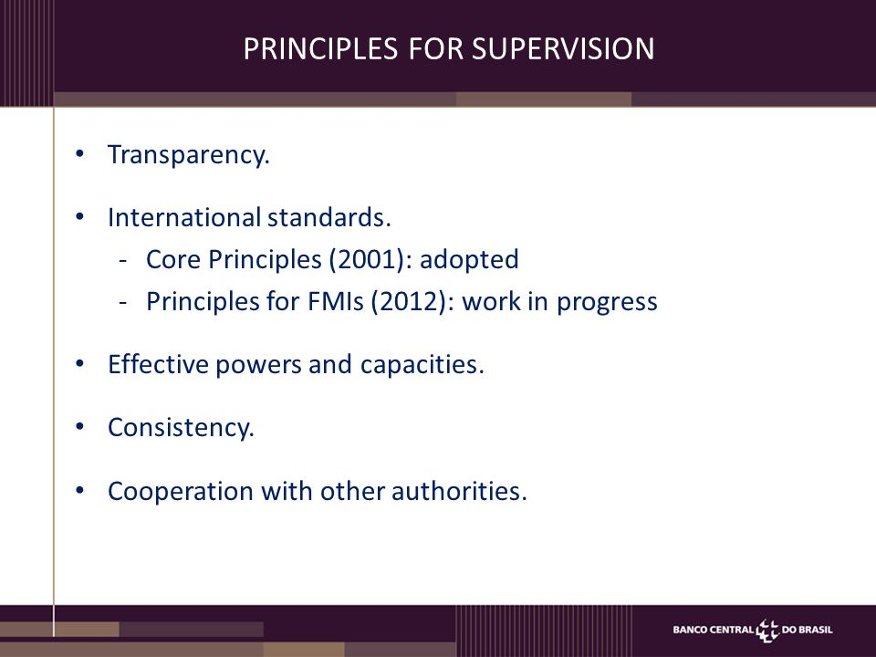 SUPERVISION TOOLS Monitoring: is performed by collecting information.