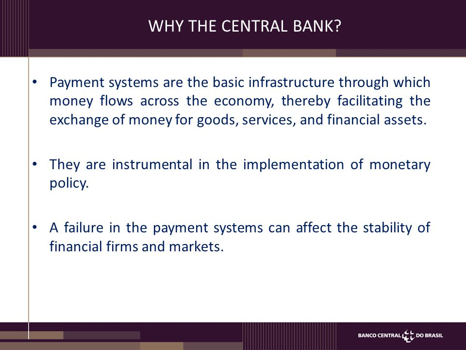 SYSTEMICALLY IMPORTANT PAYMENT SYSTEMS (SIPS) Supported by adequate National legislation (Payment Systems Law and BCRP Circulars) International Standards (Principles BIS)