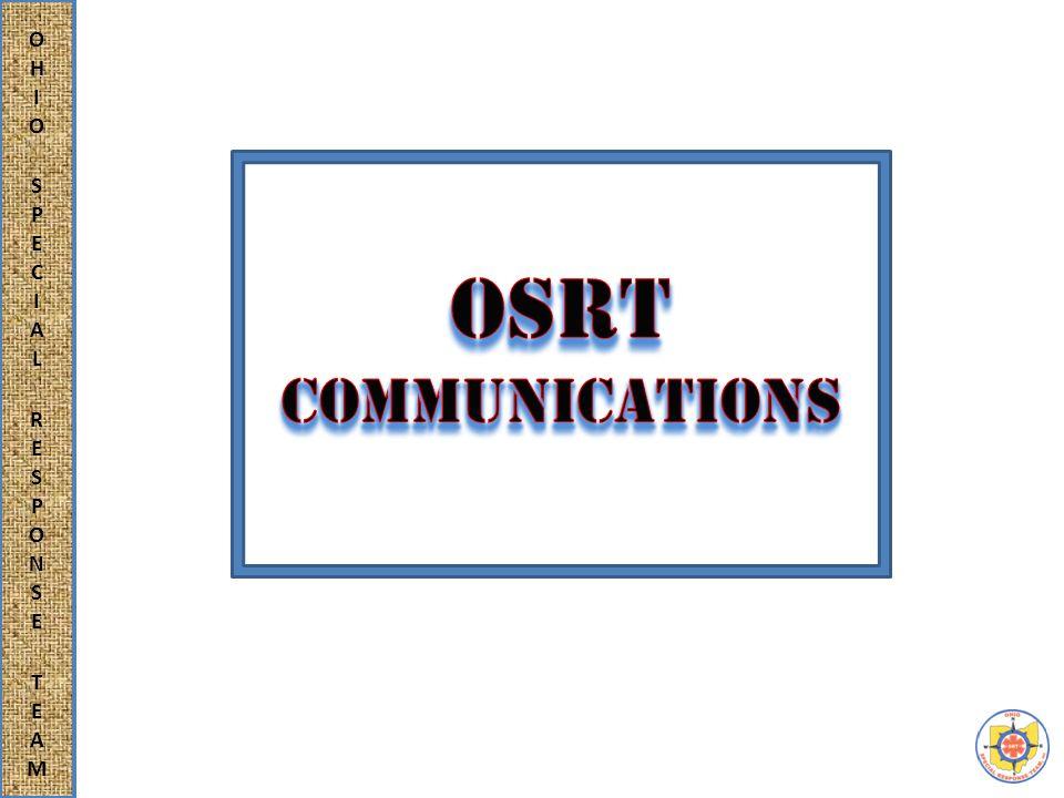 Reference: MRA 105-1, Para 1.3.g.ix Radio Communication ASTM f 2209 Para 6.10 Communication Training PowerPoint slide program prepared by Headquarters OSRT- 06Feb2014