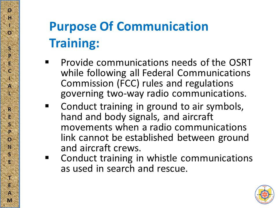  All FCC rules and regulations are to be followed when using the unit's two-way radios.