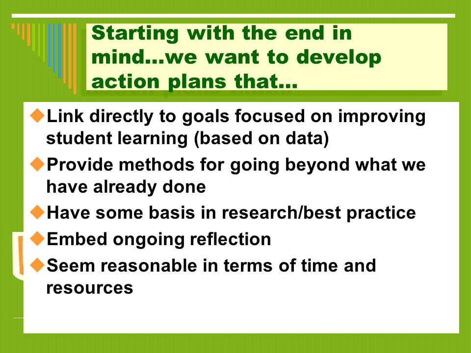 Planning Meeting Process  Establishing the Group's Goal  Establishing Norms