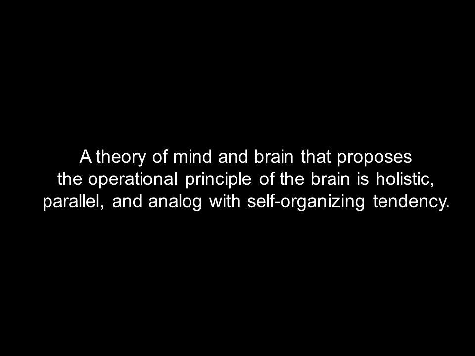 holistic, including or involving all.