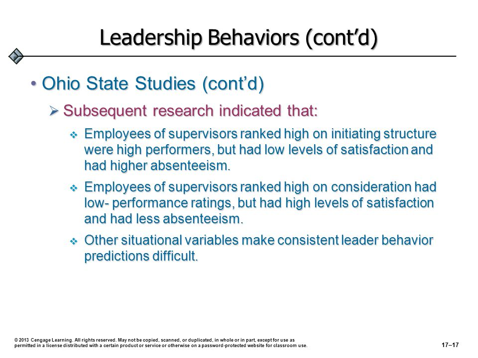 Situational Approaches to Leadership Situational Models of Leader BehaviorSituational Models of Leader Behavior  Assume that:  Appropriate leader behavior depends on the situation.