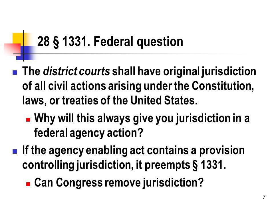 8 Where do you file.28 § 2342.