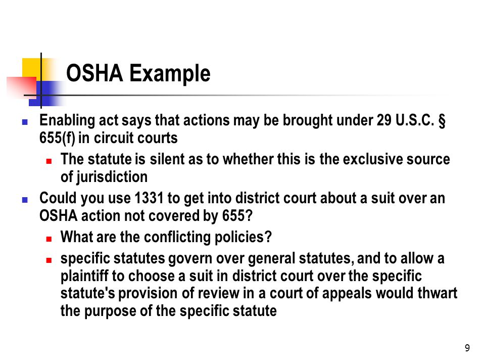 10 Standing Constitutionally Required Standing All cases must meet this standard While the United States Supreme Court can interpret what it means, the court cannot abolish it Prudential standing Additional statutory or judicial limits over the constitutional requirements