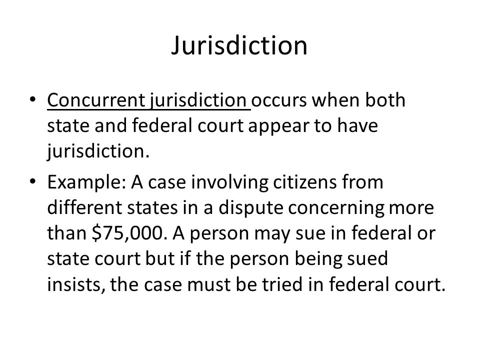 Original/Appellate The court in which a case is originally tried is known as a trial court.
