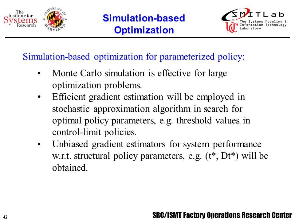 43 SRC/ISMT Factory Operations Research Center Emmanuel Fernandez, Ph.D.