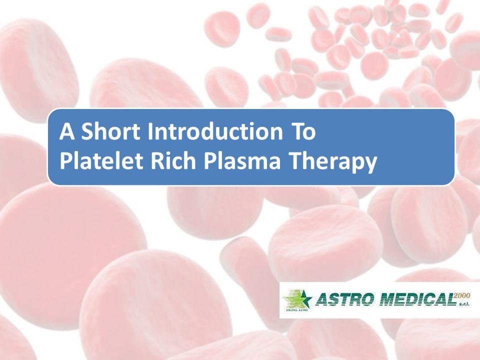 Blood Components -93 % RBCs -6 % Platelets -1 % WBCs -Plasma(Liquid Component) PRP - 94 % Platelets and Plasma - 5 % WBCs