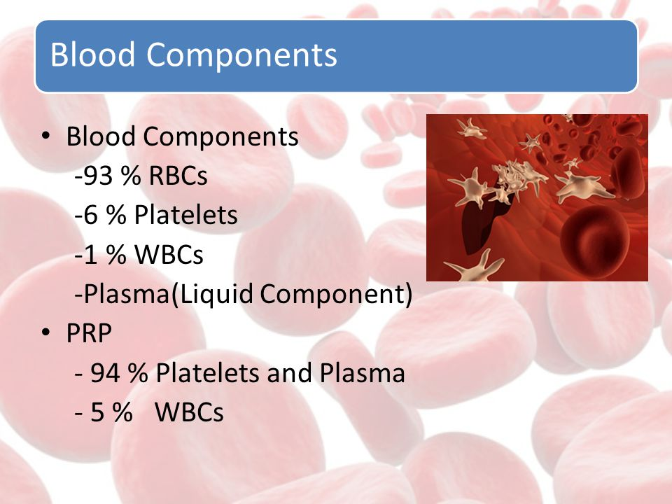 Function of Blood Cells Leukocytes ; Infection Removal Bacteria Erythrocytes; Oxygen Transport Platelets; Blood clotting and wound healing.