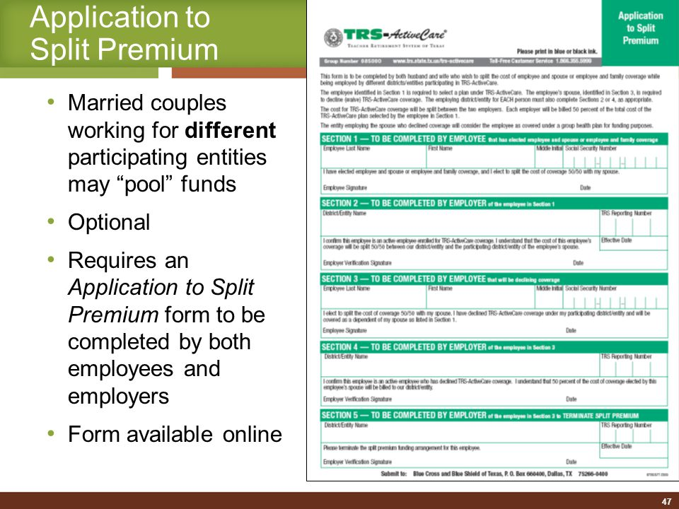 Can Changes in Coverage Be Made After Your Application Has Been Submitted.