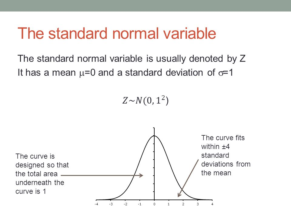 Find P (Z≤a) To do this we begin with a sketch of the normal distribution