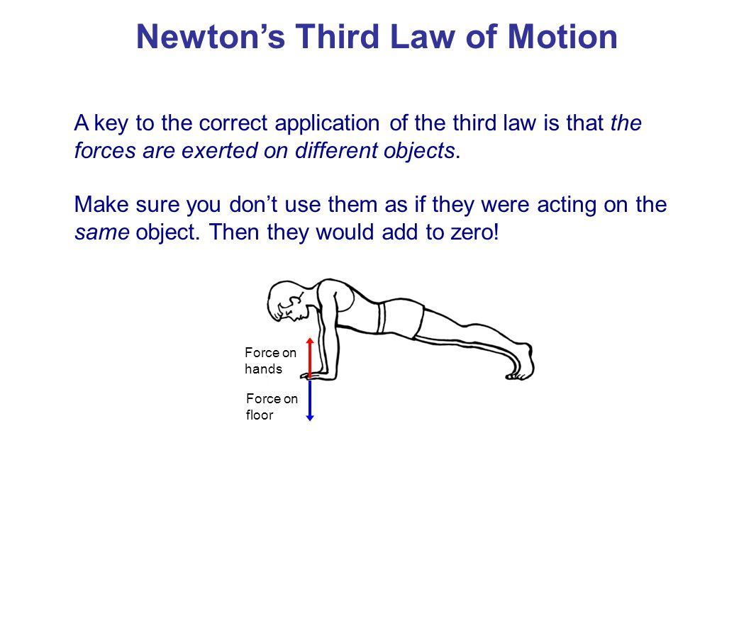 Rocket propulsion can also be explained using Newton's third law.