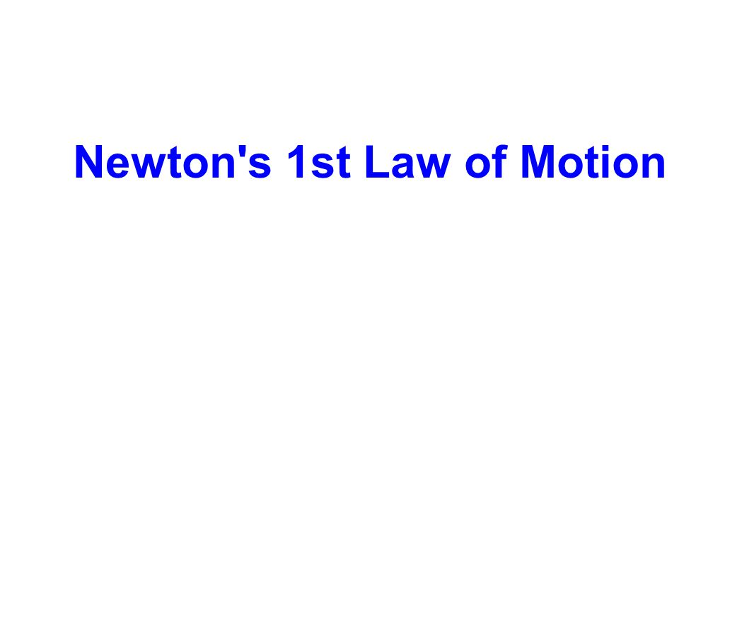 Sir Isaac Newton Galileo s observations were more fully formed in 1687 by the father of physics, Sir Isaac Newton, who called this observation The First Law of Motion .