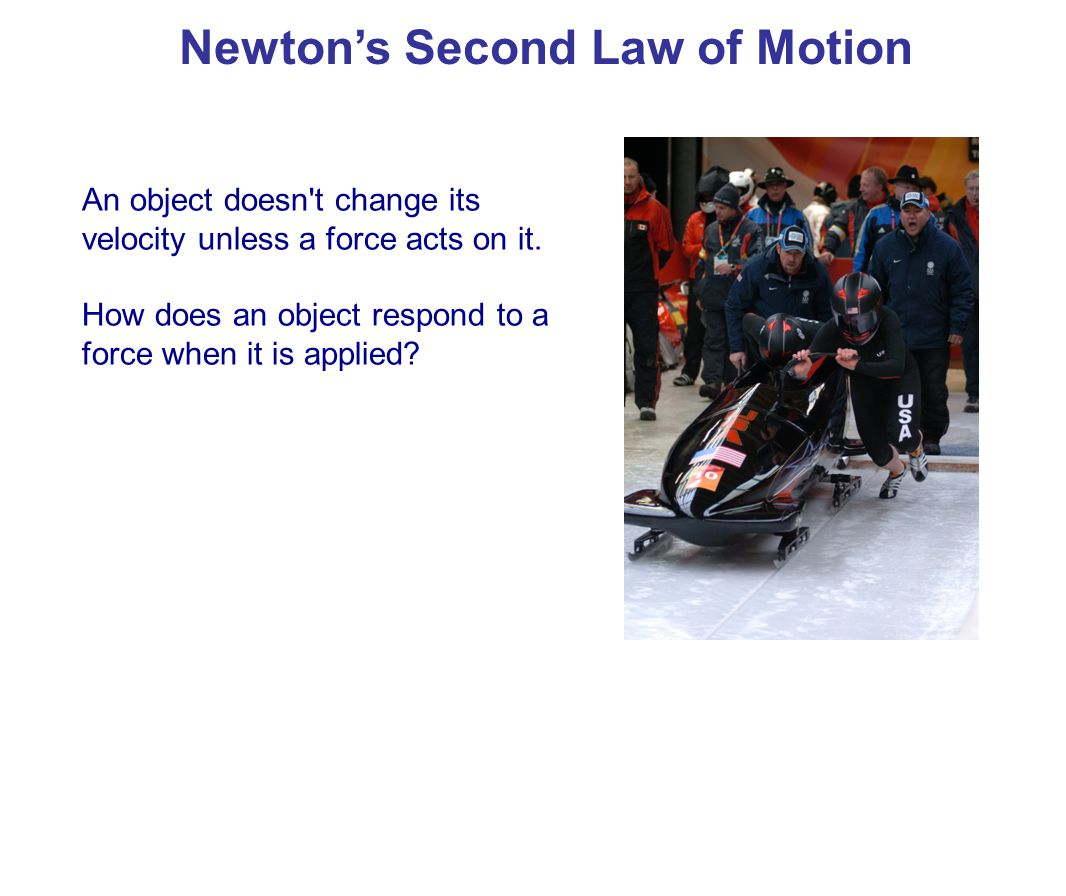 Newton's second law identifies the relationship between acceleration and force.