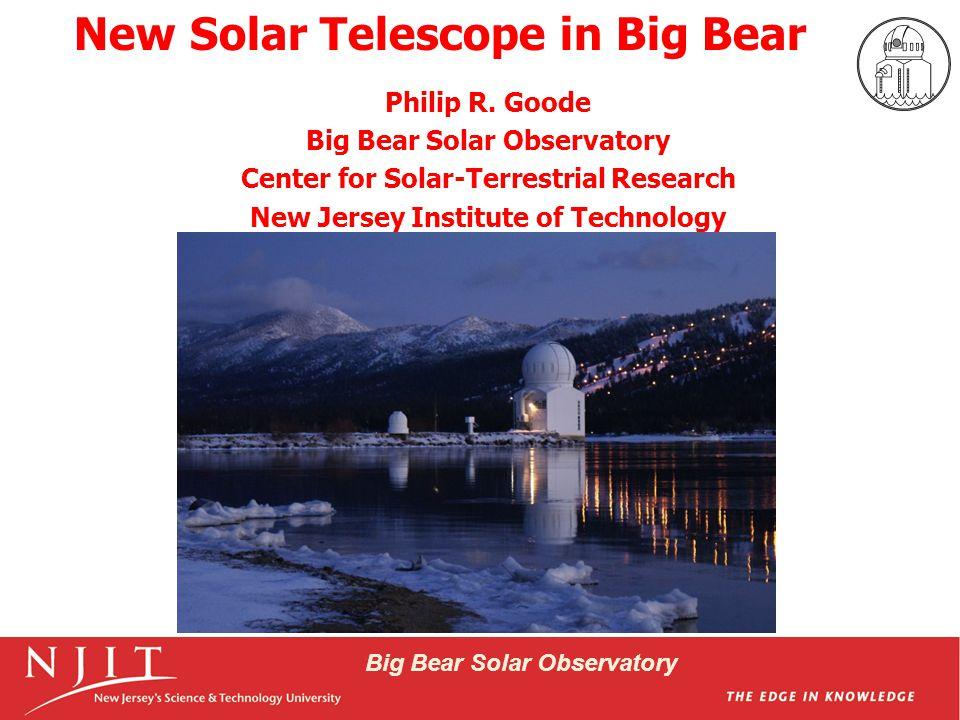 Big Bear Solar Observatory NST & Its Scientific Instruments I II III VI IV V