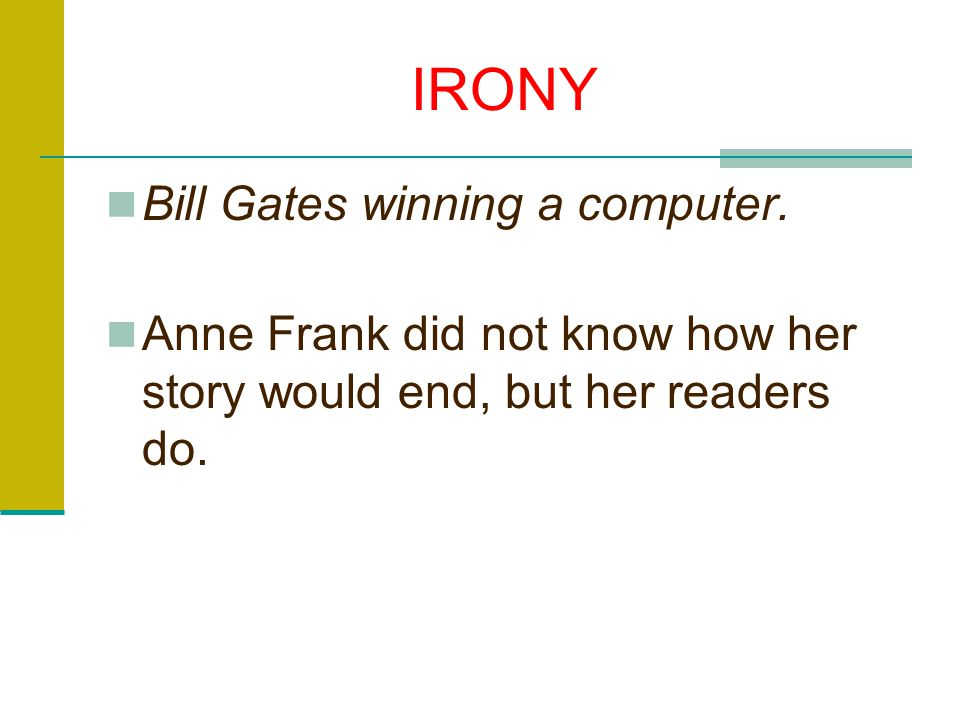 IRONY Bill Gates winning a computer.