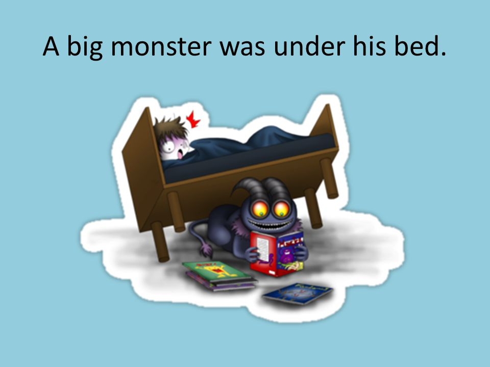 Pat dropped his Teddy Bear.