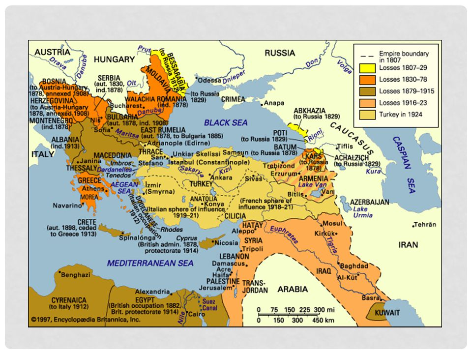 OTTOMAN EMPIRE BEFORE THE ARAB REVOLT Ottoman Empire had kept control over its multiple ethnic groups because it had allowed them their respective lifestyles of choice Directly before WWI  Ottoman Empire had shrunk (to what is now Turkey, the Middle East, and the Arabian coastline)  Pan-Turkic campaign 1908  Completion of Hejaz railway  infuriation of Hashemite clan Anger among Arabs  Arab secret nationalist societies