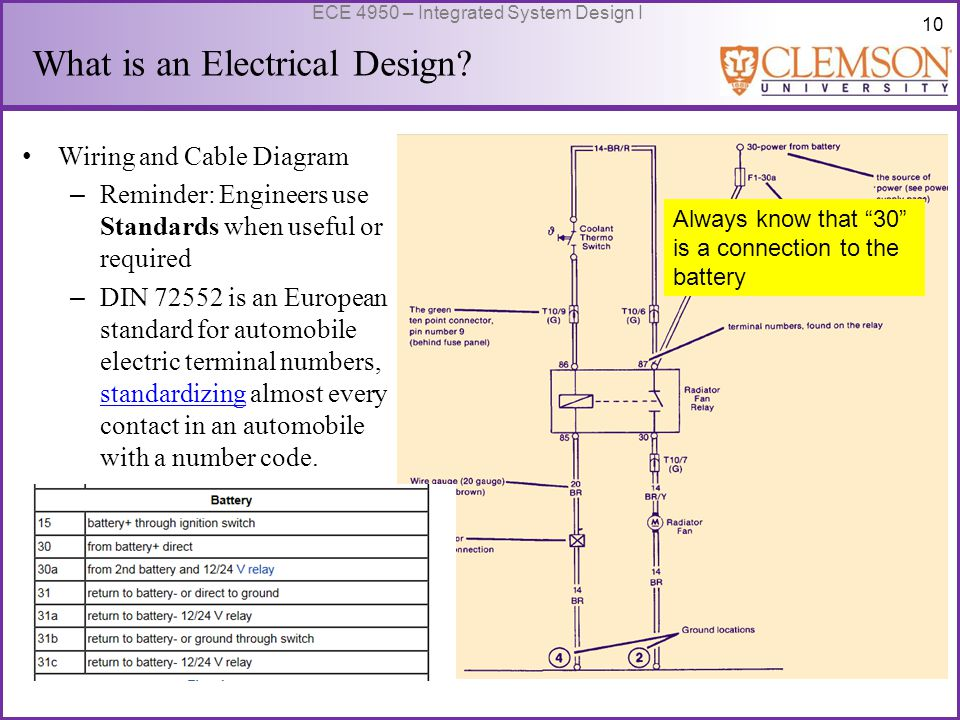 11 ECE 4950 – Integrated System Design I What is an Electrical Design.