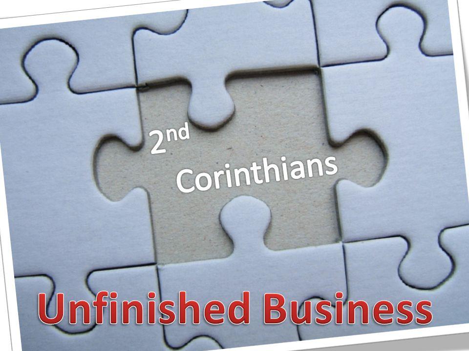 2 Cor.1:1-7 Turning Tragedy Into Triumph 2 Cor.
