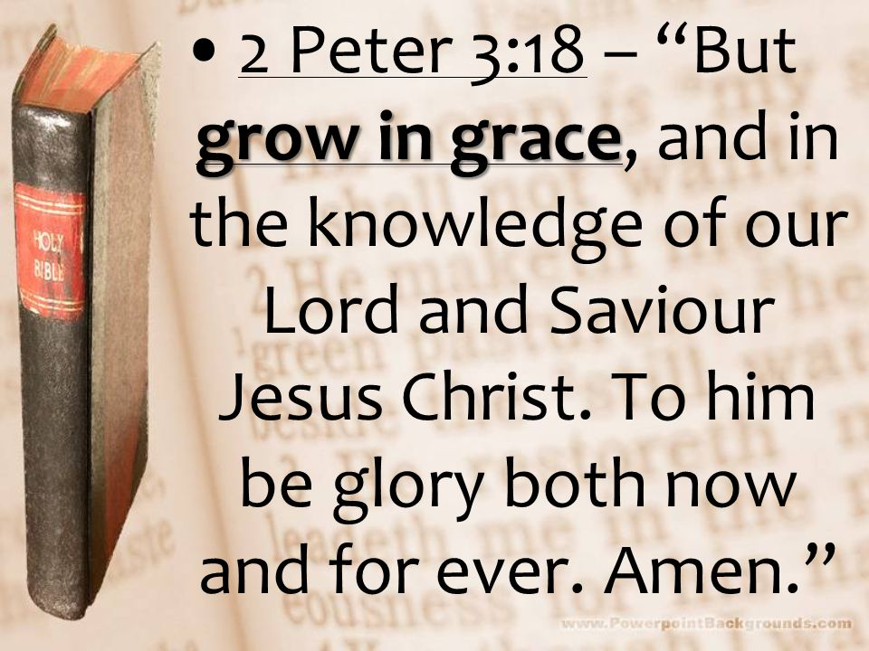 The REALITY of Wasting Grace  We are to GLORY in the GRACE of God  We are to GROW in the GRACE of God We receive the grace of God for eternity We receive the grace of God for eternity We receive the grace of God for earth We receive the grace of God for earth When we fail to receive the grace of God