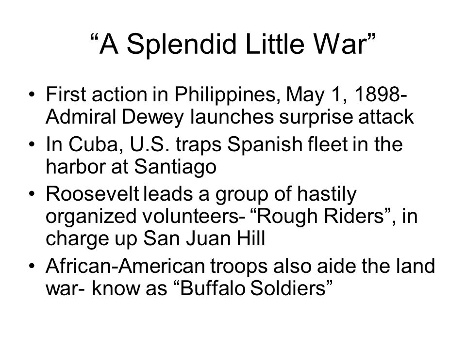 If it had not been for the Negro Calvary, the Rough Riders would have been exterminated