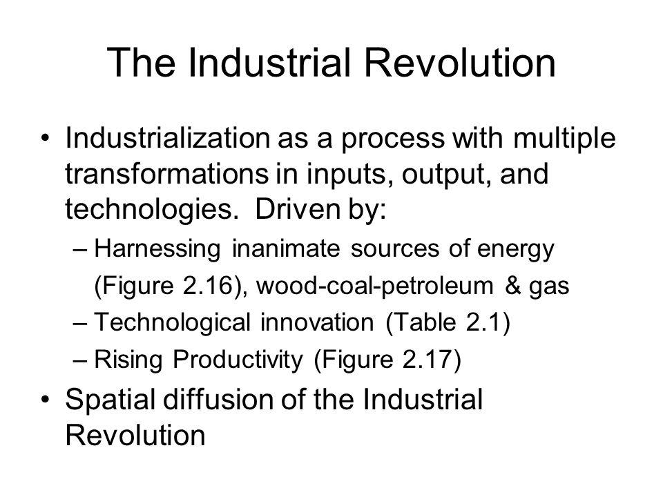 Watt's steam engine – 1769 – a key driver of the Industrial Revolution