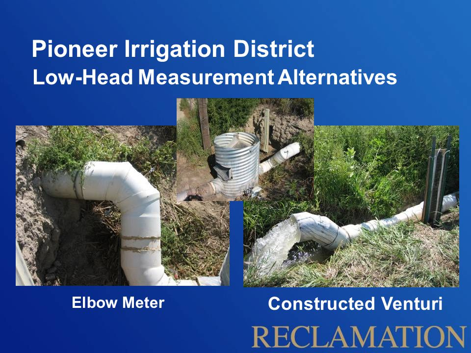 Pioneer Irrigation District Project Outcome Improved delivery equity Increased awareness of irrigation efficiencies Able to comply with subsequent Republican River Basin regulations