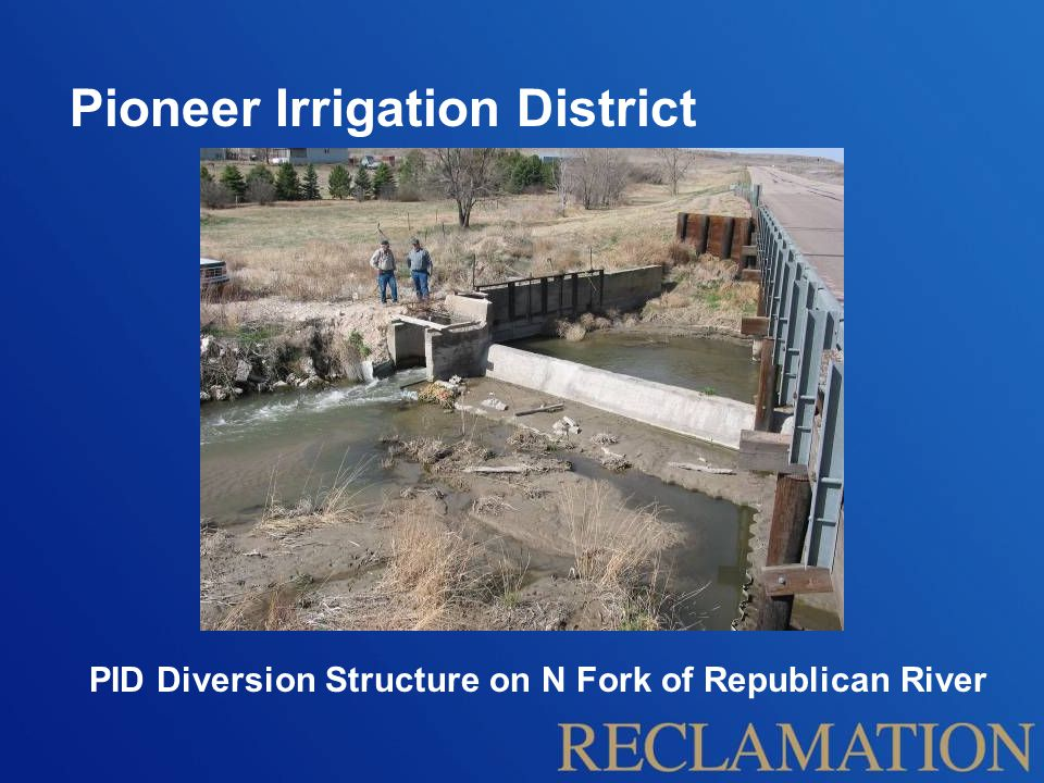 Pioneer Irrigation District Specific District Objective: Measure flow  Delivery equity Project Scope: Assist District in Establishing Flow Measurement Capability at Turnouts Verify Flow Measurement Accuracy Provide Canal Operations Technical Support