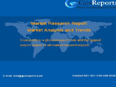 Global Gas Range Industry 2016 Market Research Report.