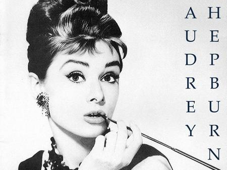 Audrey Hepburn 4th-May-1929 / 20th-January-1993 British actress and humanitarian 1992. She was awarded the Presindential Medal of Freedom in recognition.