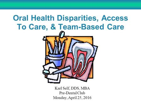 Preventive Dental Care Associated with Fewer ED, Hospital Visits