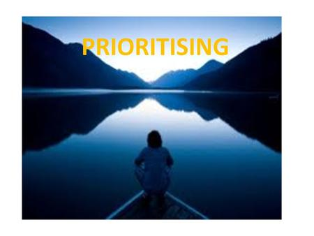 PRIORITISING. Do you think about all the tasks/homework/study/practice you need to do and get so overwhelmed you don't know where to start?