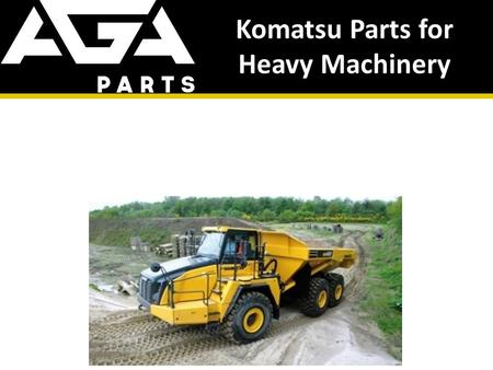 Komatsu Parts for Heavy Machinery. About Us High quality genuine & aftermarket parts from top brands from around the world. Lowest prices. Worldwide shipping.