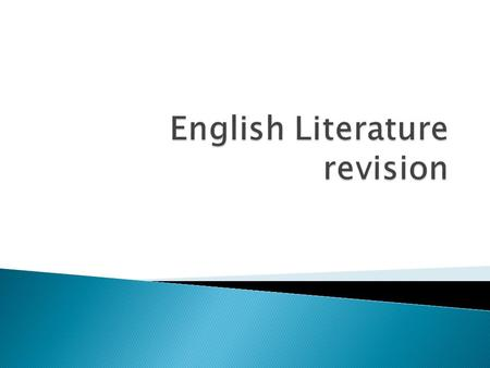 english lit coursework introduction