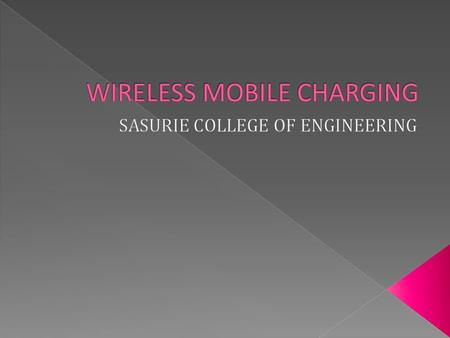 The wireless charge will convert the RF signal at 900MHz frequencies into a DC signal,and then store the power into a mobile battery.