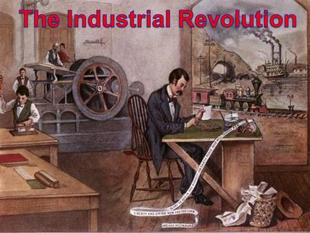 The Industrial Revolution began in Great Britain in the 1760's, but gradually spread to the United States after the War of 1812. During the Industrial.